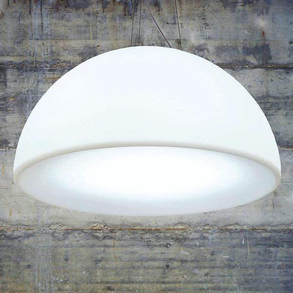 Mia Lampa Wisząca 80 Cm Biała Passion And Design