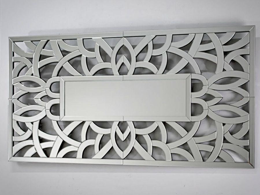 Lustro Z Dekoracyjną Ramą Kod D13tm121sd 150x75 Passion