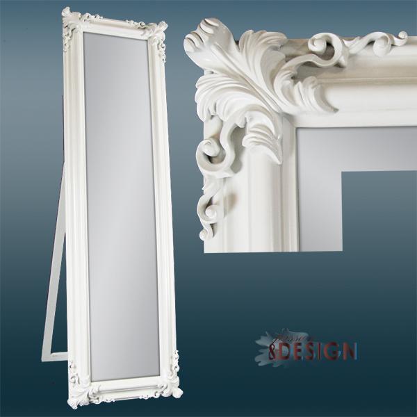 Białe Lustro Stojące Kod Lb21023 Passion And Design Design Meble