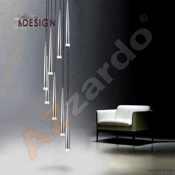 Lampa Wisząca Stylo 8 Chrom Passion And Design Design Meble